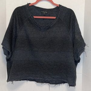 VANS Cropped Top with short sleeves